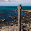 Stone cross at Diaz point — Stock Photo #36552989