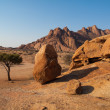 Stock Photo: Pondoks massive in Spitzkoppe area