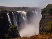 Main Cataract of Victoria Falls — Stock Photo