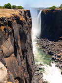 Victoria Falls Canyon — Stock Photo