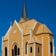 Evangelical Lutheran Church in Luderitz — Stock Photo