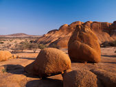 Pondoks massive in Spitzkoppe area — Stock Photo