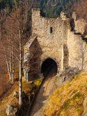 Gate tower of Oybin Castle — Stock fotografie