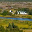 Thingvellir church — Stock Photo