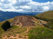 Samaipata Kalesi, taş nişler — Stok fotoğraf