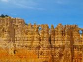 Sandstone columns of Bryce Canyon — Stock Photo