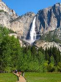 Oberer Yosemite Wasserfall — Stockfoto