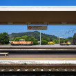 Reportage: railways's italian train and Stations. Orte Station (near Rome) — Stock Photo