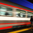 Reportage: railways's italian train and Stations. Venice (Mestre) Station — Stock Photo