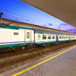 Reportage: railways's italitrain and Stations. SantMariNovellin Florence. — Stockfoto #29223965