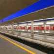 Reportage: railways's italian train and Stations. Santa Maria Novella in Florence. — Stock Photo