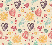 Valentine Pattern — Stock Vector