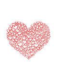 Happy valentines day greeting card — Stok fotoğraf