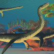 Undersea Plesiosaurus — Stock Photo