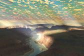 Paisagem canyon — Fotografia Stock