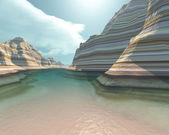 Canyon River — Stock Photo