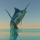 Peixes do esporte de marlin — Foto Stock