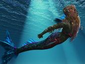 Mermaid of the Sea — Stock Photo