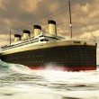 Stock Photo: titanic oceanliner