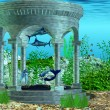 Mermaid Home — Foto Stock