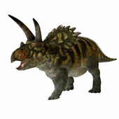 Coahuilaceratops Profile — Stock Photo