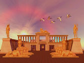 Egyptian Kingdom — Stock Photo