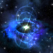 Magnetic Pulse Star — Stock Photo