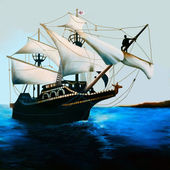 The Golden Hind — Stock Photo