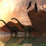 Постер, плакат: Dinosaur Dawn