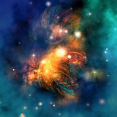 Draconian Nebula — Stockfoto