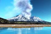 Mount St. Helens Volcano — Stock Photo