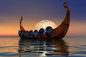 Viking Boat 2 — Stock Photo