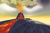 Wulkaniczne — Zdjęcie stockowe