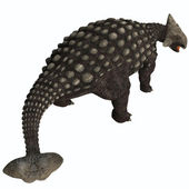Ankylosaurus Isolated — Stock Photo