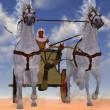 Egyptian Chariot — Stock Photo