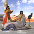 Egyptian Cleopatra — Stock Photo