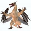 Stock Photo: Motley Dragon