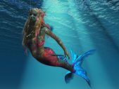 Mermaid of the Ocean — Stock Photo