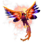 Phoenix Rising — Stock Photo