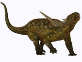Sauropelta on White — Stock Photo