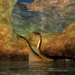 Plesiosaurus Cavern — Stock Photo