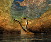 Plesiosaurus Cavern — Stock Photo
