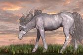 Unicorn and Chipmunk — Stock Photo