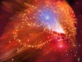 Orange Nebula — Stock Photo