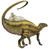Tenontosaurus Profile — Stock Photo