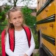 Little Schoolgirl — Stock Photo