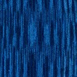 Blue knitting background close up — Stock Photo