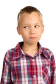 Humorous Young Boy — Stock Photo