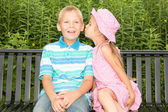 Kids in a Park — Stock Photo