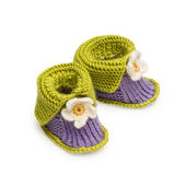 Handmade baby Shoes — Stock Photo